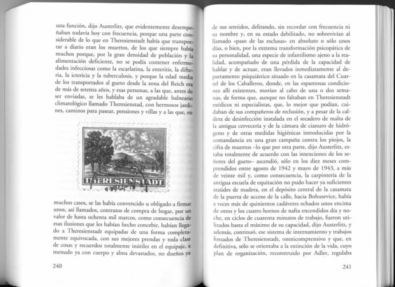 W.G. Sebald, Austerlitz, Anagrama, 2002