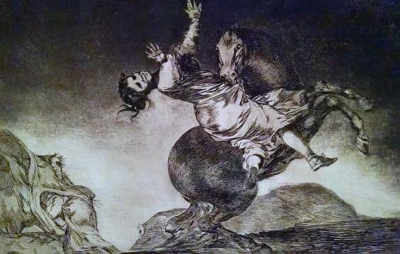 Francisco de Goya, Los Proverbios, 1864