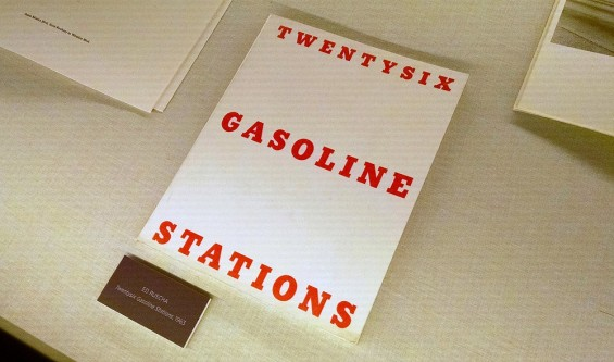 Ed Ruscha, Twentysix Gasoline Stations, 1963