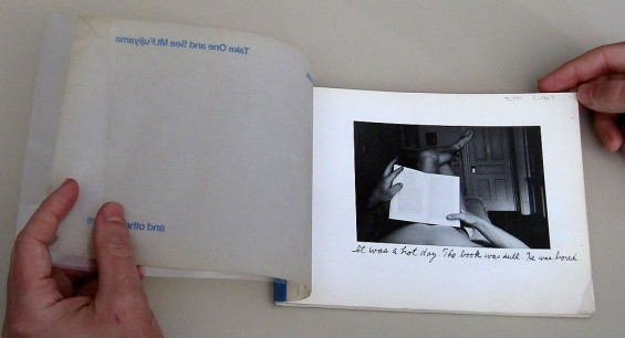 Duane Michals, Take one and see Mt. Fujiyama and other stories, 1976