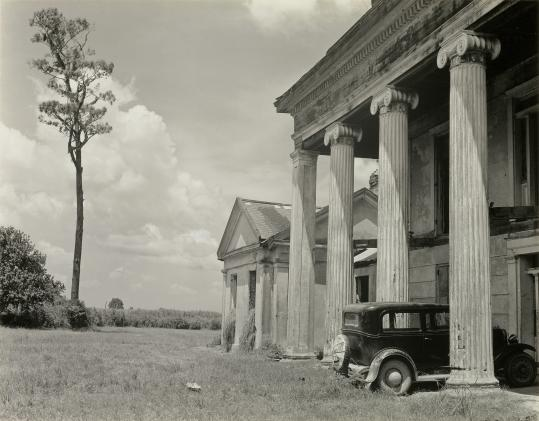 Edward Weston, Woodlawn Plantation, Louisiana, 1941