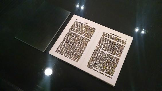 Exposición No es nuevo, es un libro, en la biblioteca y centro de documentación del museo Reina Sofía