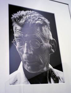 ParisPhoto 2011, retrato de Samuel Beckett tomado por Steve Schapiro