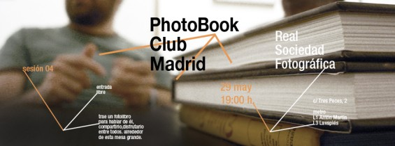 PhotoBook Club Madrid, 25 de Mayo de 2012