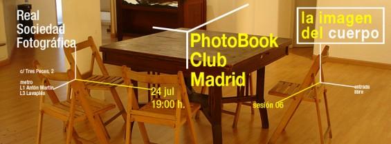 Sexta tertulia de libros de fotografía de Madrid: la imagen del cuerpo