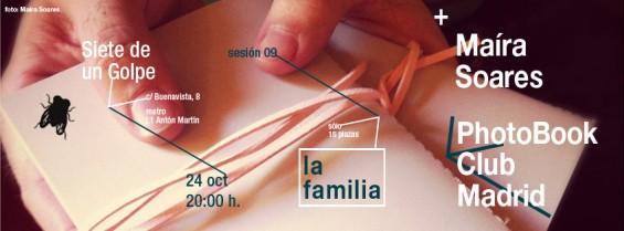 Novena tertulia de libros de fotografía en Madrid: la familia