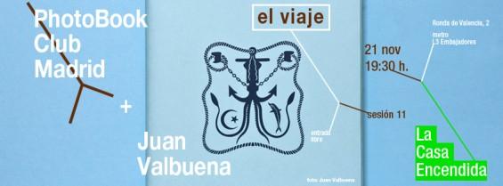 Undécima tertulia de libros de fotografía en Madrid: el viaje