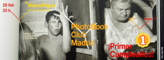 Primer aniversario del PhotoBook Club Madrid