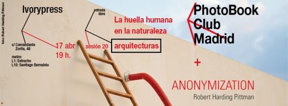 Decimoctava tertulia de libros de fotografía en Madrid: la huella del hombre en la naturaleza - arquitecturas