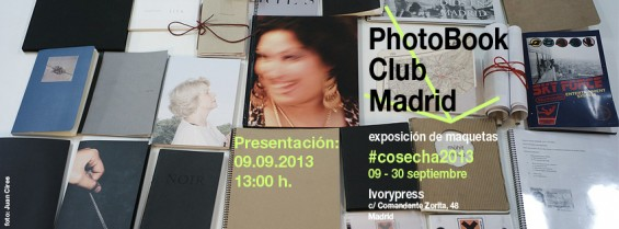 sesión 25 del PhotoBook Club Madrid, en Ivorypress