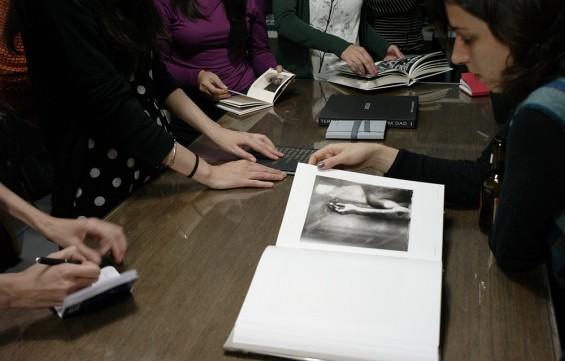 Novena tertulia de libros de fotografía en Madrid