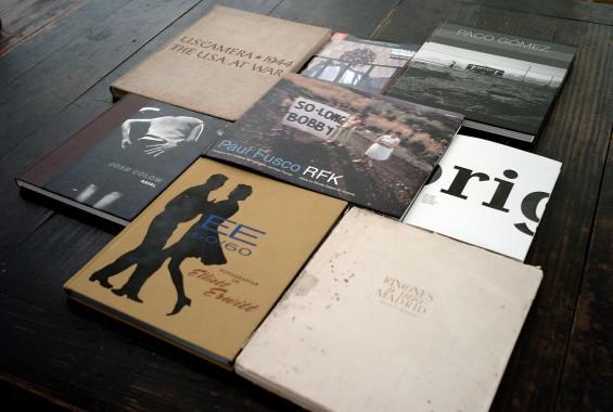 Tercera tertulia de libros de fotografía de Madrid, abril 2012
