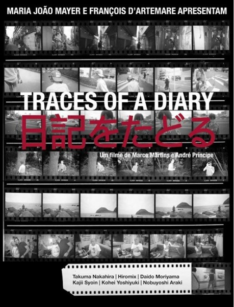 Cartel de Traces of a Diary, 2010